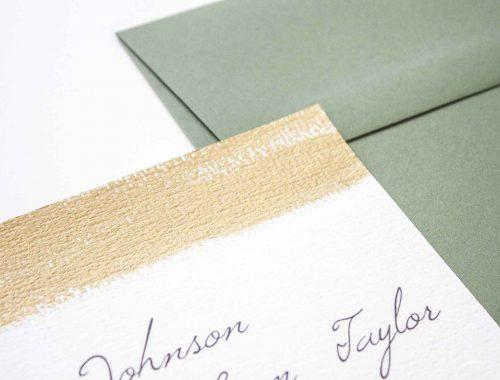 Partecipazioni di matrimonio oro