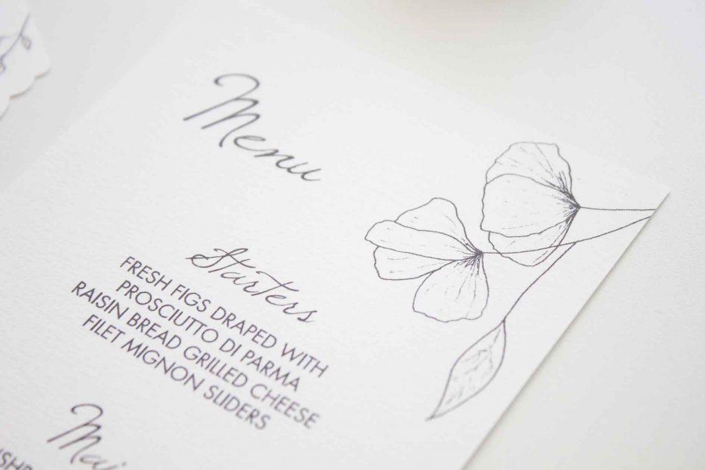 Partecipazioni di matrimonio floreali Napoli